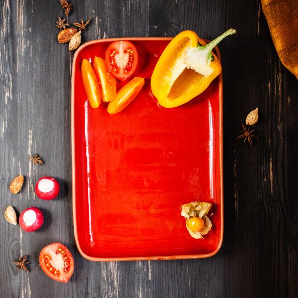 Тарелка прямоугольная Инкоу