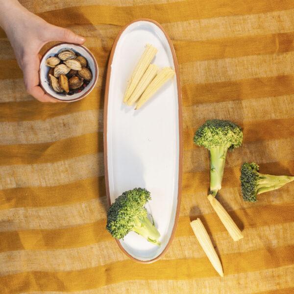 Тарелка для сервировки Аляска овальная