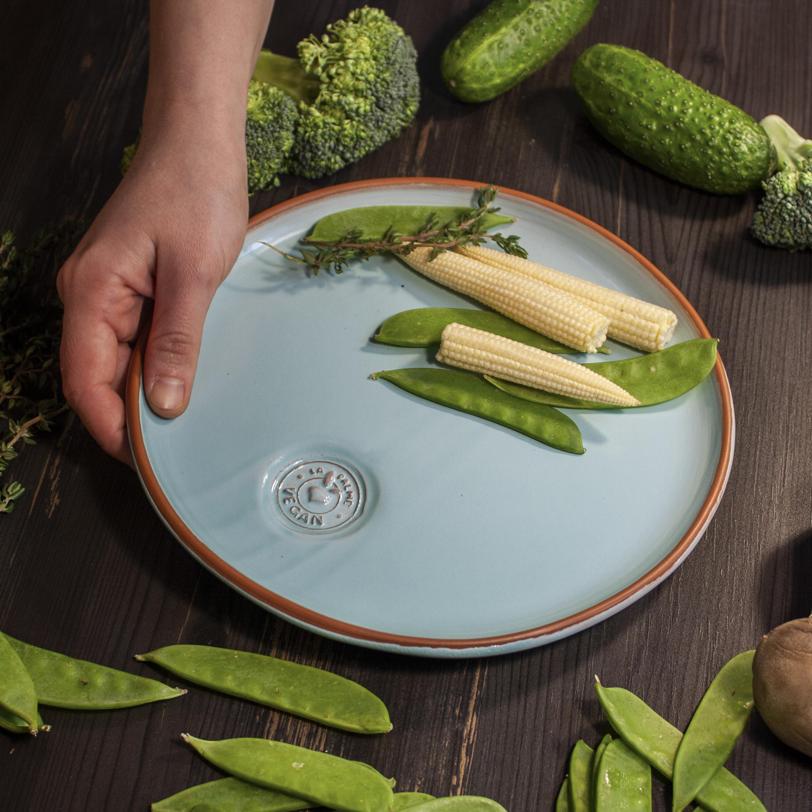 Тарелка круглая Vegan D 230