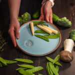 Тарелка круглая Vegan D 250
