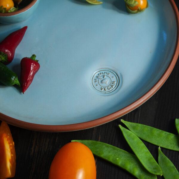 Керамическая Тарелка круглая Vegan D 250