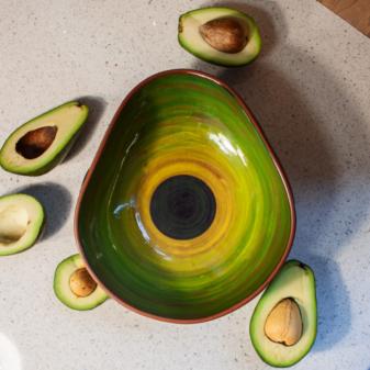 Салатник керамический Anti-age Авокадо ХААС