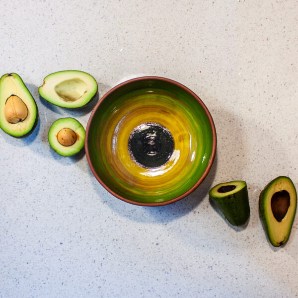 Керамическая Миска боул для завтрака Anti-age Авокадо 500 ml