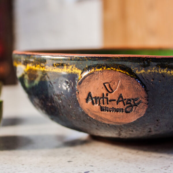Керамический Салатник-боул Anti-age Авокадо D 18