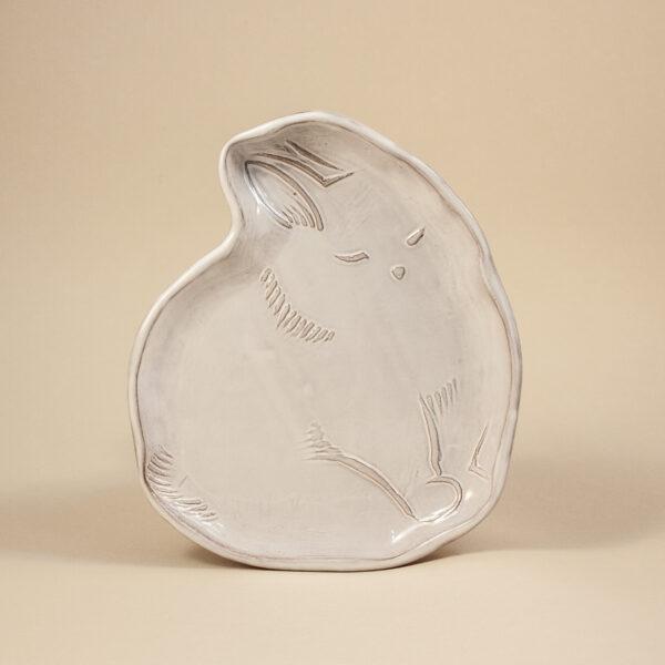 Керамическая Тарелка Заяц