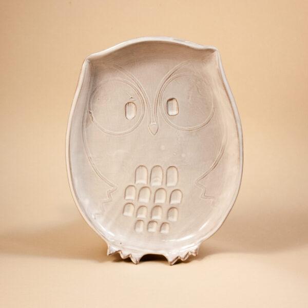 Керамическая Тарелка Сова