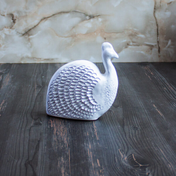 Цесарка из керамики