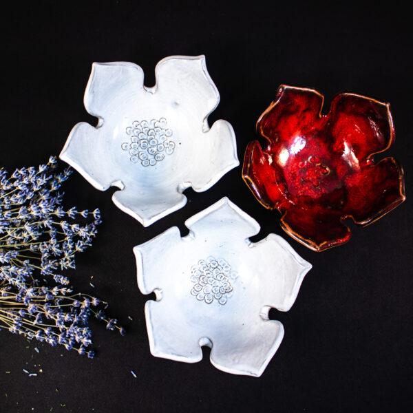 Набор подвесных керамических цветов цветов