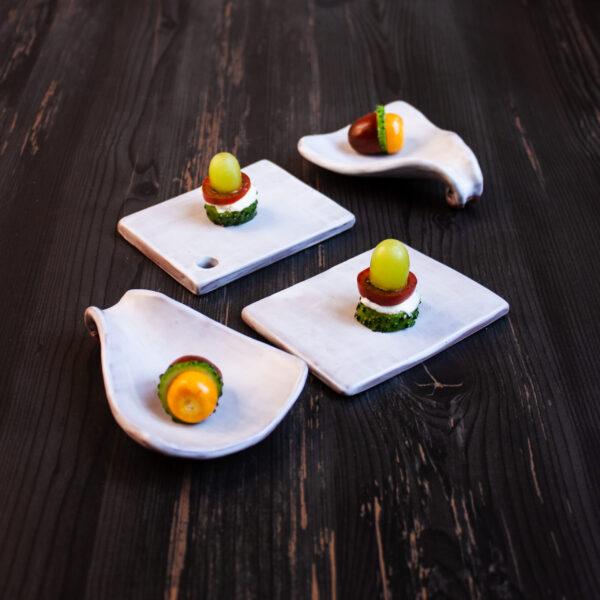 """Набор посуды для кейтеринга из керамики """"Агат"""" (под заказ)"""