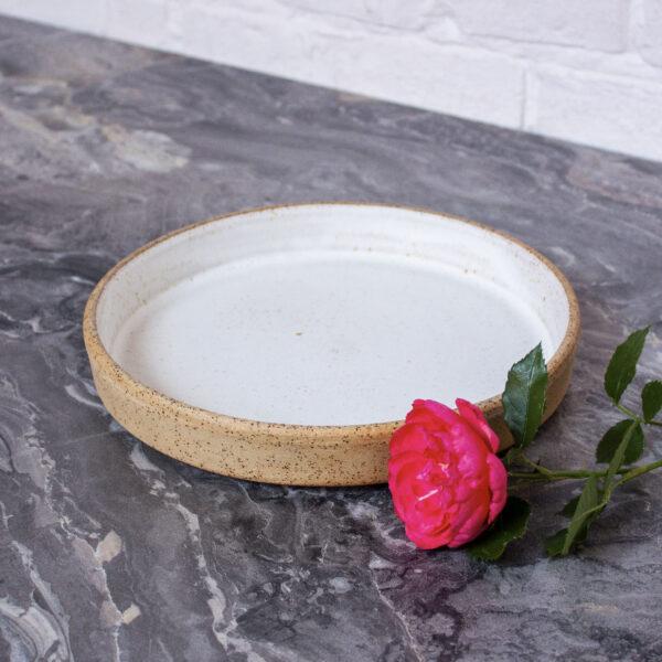 Тарелка из керамики Next D220 H35 Гавайи White