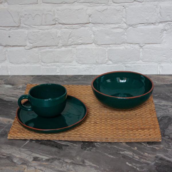 Набор посуды из керамики Эгоист коллекция Махана