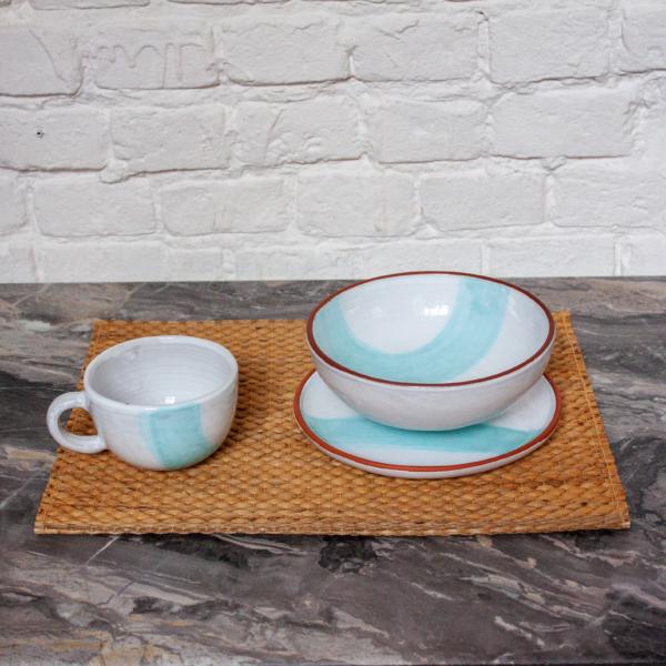 Керамика Набор посуды Эгоист коллекция Исландия