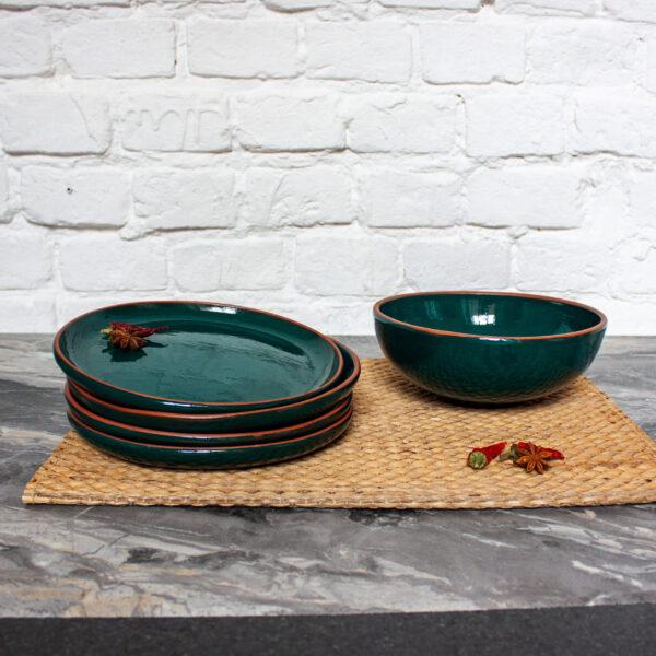 Набор посуды Семейный коллекция Махана керамический