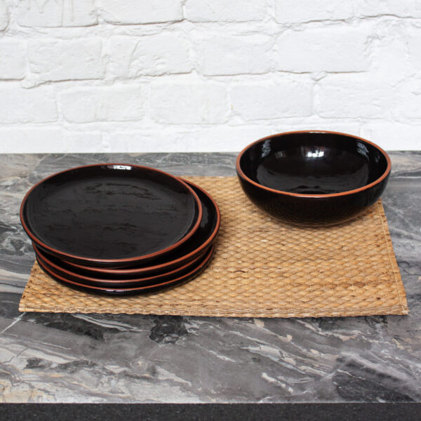 Набор посуды керамический Семейный коллекция Мауи