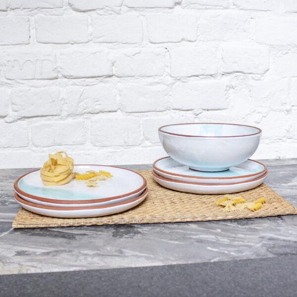 Набор посуды Семейный коллекция Исландия керамика