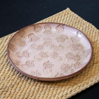 Тарелка круглая керамическая Расторопша D 230