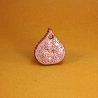 Подвеска из керамики Инжир-2