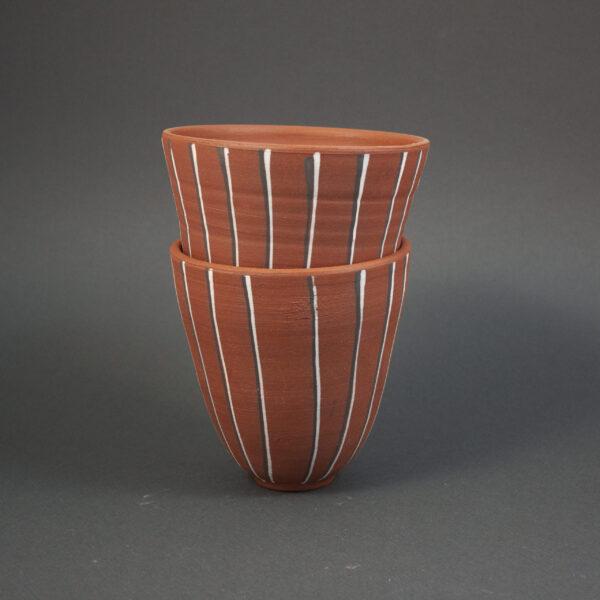 Керамическое Кашпо Капучино