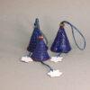 Колокольчики из керамики новогодние-1