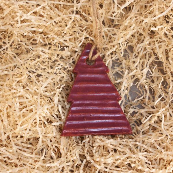 Керамическая Подвеска-елочная игрушка Елочка-5