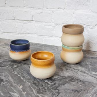 Стакан из керамики