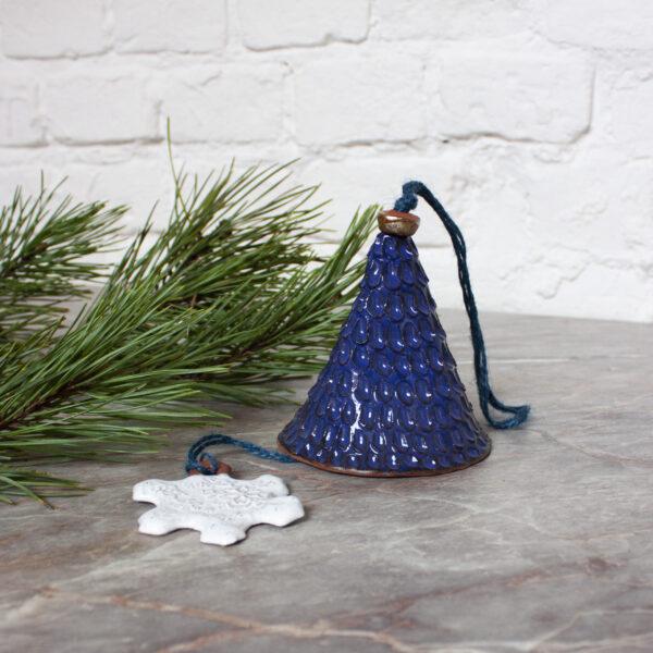 Колокольчик из керамики (размер S)