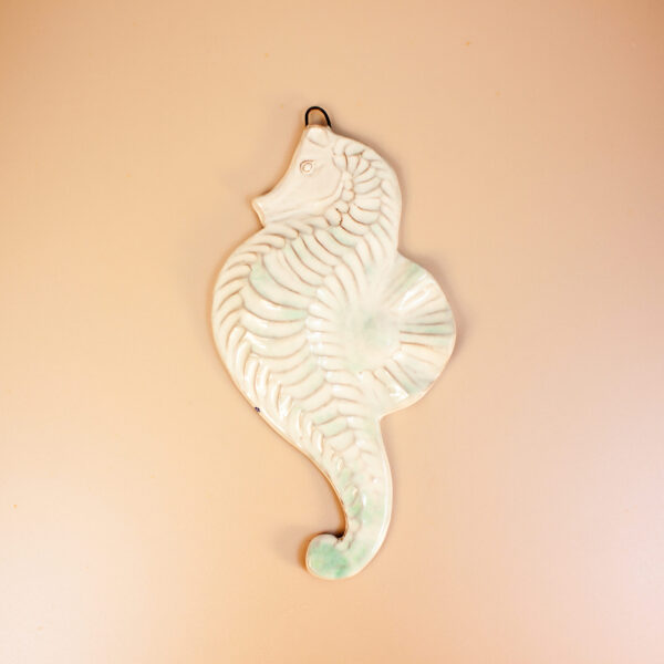 Керамическая игрушка Фигурка Морской конек-3 серия Wall Art