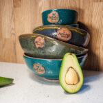 Набор посуды керамика Anti-age Авокадо