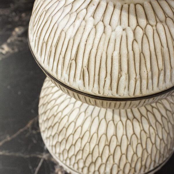 Салатник из керамики