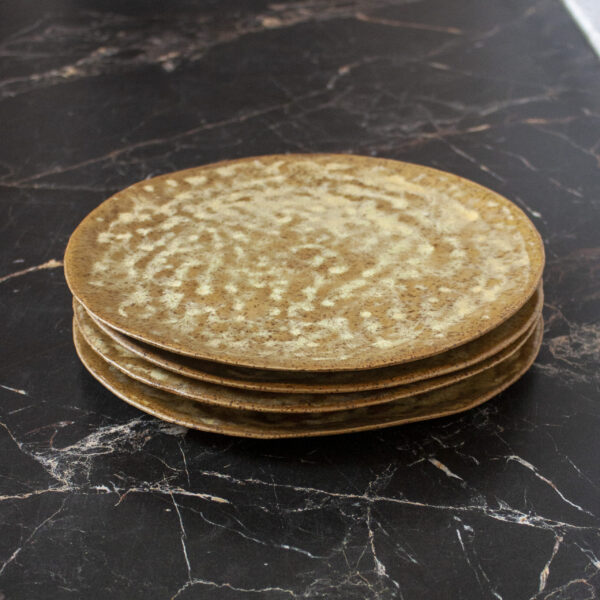 Тарелка для кейтеринга Finger Old Gold