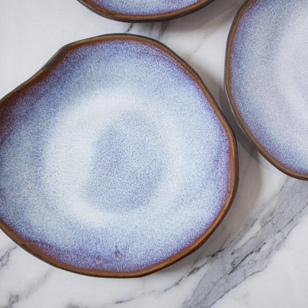 Тарелка круглая из керамики Этно Сириус
