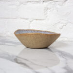 Салатник круглый из керамики Этно Орхидея