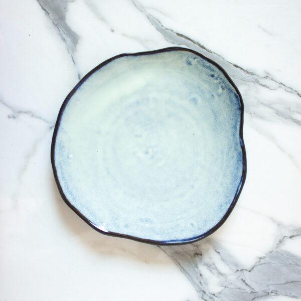 Крафтовая Тарелка круглая Этно Crocus