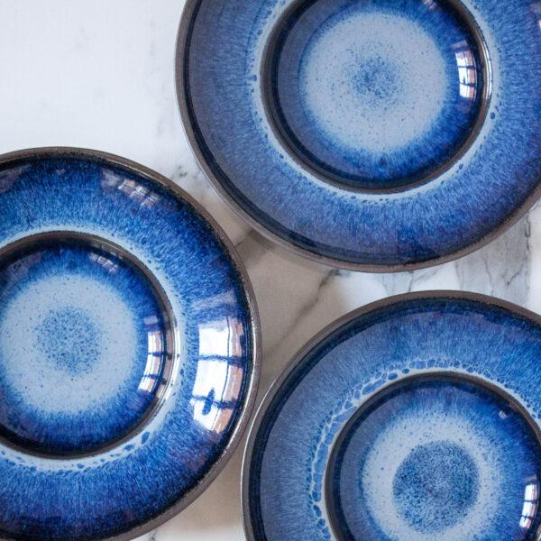 Керамическая Тарелка для пасты Basic Бали Галактика