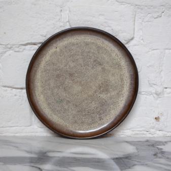Тарелка для горячих блюд круглая Basic Макадамия