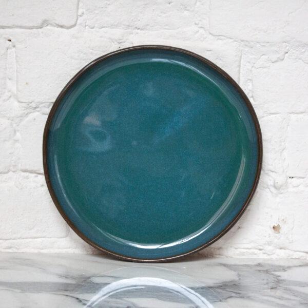 Глянцевая Тарелка круглая Basic Бали Мурена