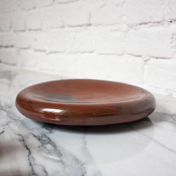 Тарелка из каменной керамики Bagel Бали Мишлен