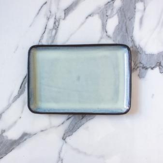 Тарелка керамическая прямоугольная Casual Бали Crocus