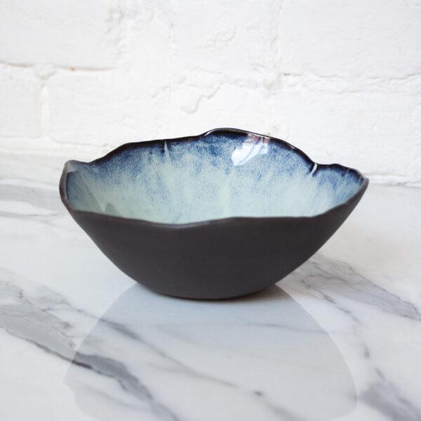 Раскрашенная Миска из керамики Этно Бали Crocus