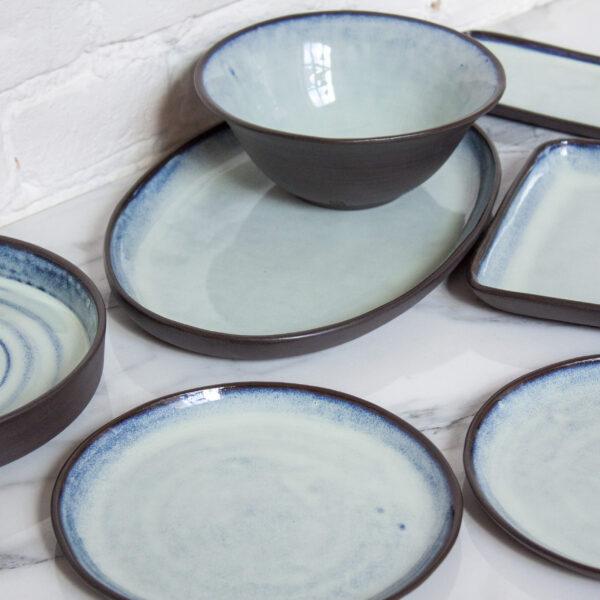Миска из керамики тюльпан Бали Crocus