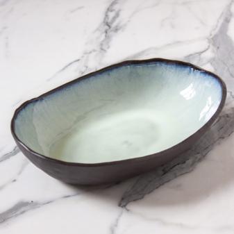 Керамический Салатник овальный Этно Crocus