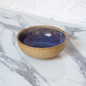Салатник боул керамический Гавайи Аметист