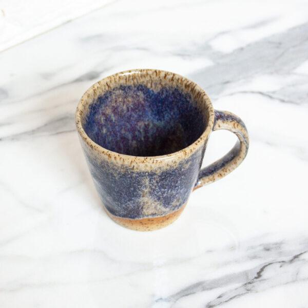 Керамическая Чашка с блюдцем Кантри Аметист