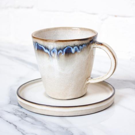 Чашка с блюдцем из керамики Кантри Siam