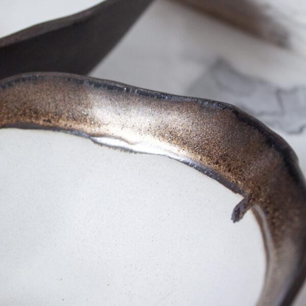 Миска керамическая Этно Gold Accent