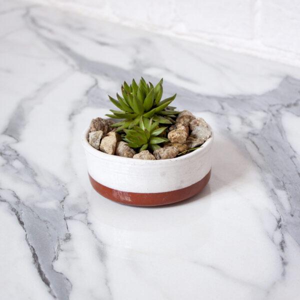 Горшок для растений из керамики Next d110 Milk