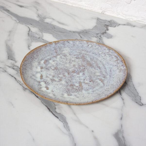Тарелка круглая керамика Finger D270 Гавайи Орхидея