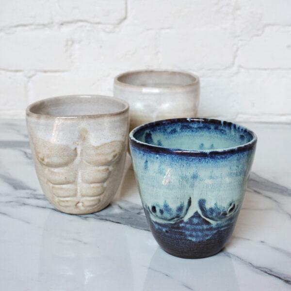 Ваза для цветов из керамики или емкость для кухни 18+