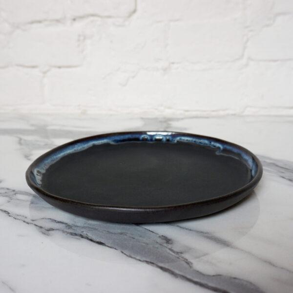 Тарелка круглая из керамики La Palme Бали Пантера