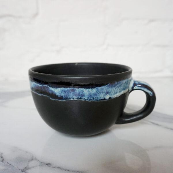 Чашка из керамики ручной работы Крафт Пантера